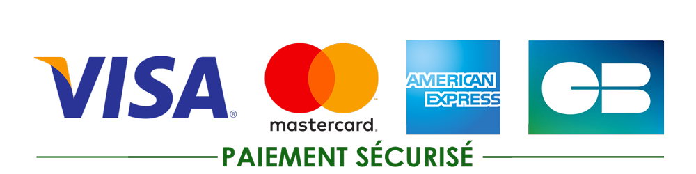 All payments are 100% secured by the Stripe platform, in accordance with French and international interbank security systems.
